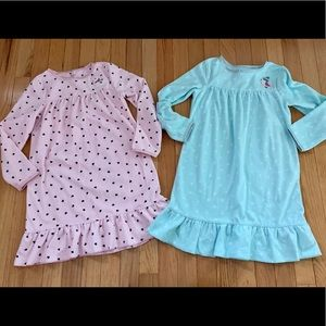 🌜2CARTERS NIGHTGOWNS